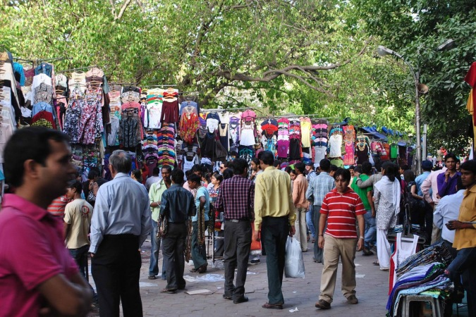 janpath-and-tibetan-market-delhi