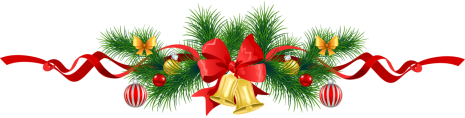Transparent_Christmas_Pine_Garland_with_Gold_Bells_Clipart.png